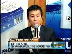 IZUMIO HYDROGEN WATER Philippines Featured in What's Up Doc Mr Ohno Shuji, Naturally Plus - YouTube   critiquez.npusashop.com
