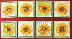 bm-066-01-6095 R. Kaufman - Jane Shasky 'Sunny Day'  Bildgröße 110 cm x 60 cm