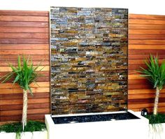 Best Diy Outdoor Wall Decor Water Fountains 57 Ideas The Effective Pictures We Offer You About In. Water Wall Fountain, Diy Fountain, Tabletop Fountain, Outdoor Wall Fountains, Indoor Water Fountains, Outdoor Walls, Outdoor Decor, Outdoor Living, Modern Water Feature