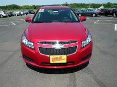 2013 Chevrolet Cruze ECOAuto ECO Auto 4dr Sedan w/1SF Sedan 4 Doors Red for sale in Two harbors, MN Source: http://www.usedcarsgroup.com/new-chevrolet-cruze-for-sale