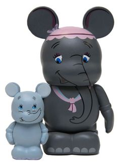 Mrs. Jumbo and Dumbo for Disney's upcoming Mickey's Circus event.