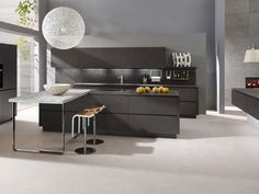 ALNO Kitchen Ranges: The ultimate in modern German kitchen design. Kitchen Cabinet Design, Kitchen Design Trends, Kitchen Trends, Contemporary Kitchen, Italian Kitchen Design, Kitchen Fittings, Modern Kitchen Design, Minimalist Kitchen, Alno Kitchen