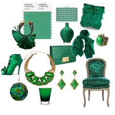"""{Emerald} Pantone 2013 Color of the Year"" by zunigainteriors-1 on Polyvore"