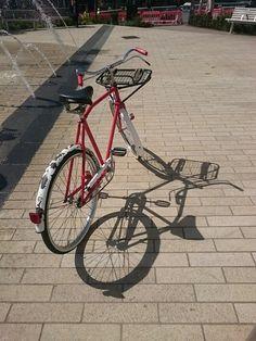 Restored 1970s Pashley postie bike by my own fair hands