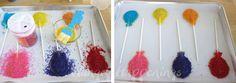 balloon pastry pops