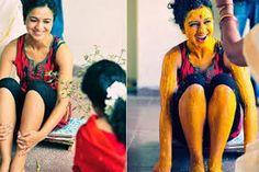 Haldi rasam is a pre-wedding ritual of applying haldi (turmeric) to both the bride and the groom to keep the evil eye away.
