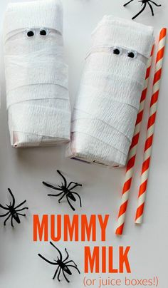 Mummy Milk (or juice boxes!) - perfect for a classroom