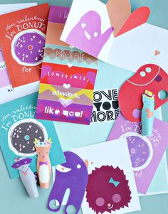 Playful Valentine's Day Printables | Smallful