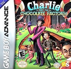 Charlie and the Chocolate Factory Nintendo Game Boy Advance 2005 Oompa Loompa