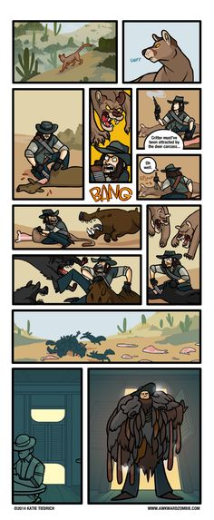 AWKWARD ZOMBIE - Hunter Gatherer - Red Dead Redemption