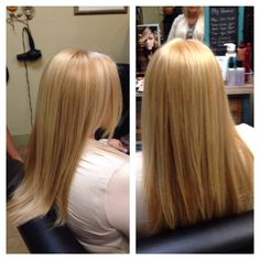 Gorgeous Beige Blonde using Keune Color. Work by Darla Gartenfeld