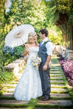 Romantic garden wedding Brideside Real Weddings