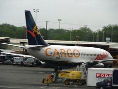 Aloha Air Cargo 737 in Aloha Airlines livery. Honolulu International Airport.