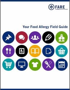 """Free Download for Newly Diagnosed Patients: """"Your Food Allergy Field Guide"""" http://www.foodallergy.org/newly-diagnosed/food-allergy-field-guide"""