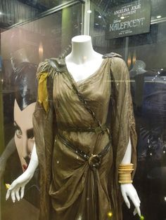 anna b sheppard costume design maleficent | ... Jolie and Elle Fanning Maleficent movie costumes on display