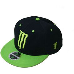 c0d10f581c1  Overseas limited model  Monster Energy SNAPBACK FREE SIZE Snapback... (18  CAD) ❤ liked on Polyvore featuring accessories
