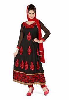 Fabdeal Indian Designer Georgette Black Embroidered Salwar Fabdeal, http://www.amazon.de/dp/B00IRB9474/ref=cm_sw_r_pi_dp_gm7otb169N0P1