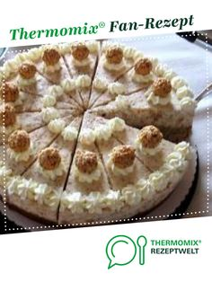 Giotto Pie- Giottotorte Giottotorte by bininanny. A Thermomix ® recipe from the Baking Sweet category www.de, the Thermomix® Community. Easy Potluck Recipes, Easy Appetizer Recipes, Crockpot Recipes, Easy Meals, Dessert Recipes, Dessert Oreo, Oreo Desserts, Easy Desserts, Dessert Simple