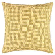 BuyJohn Lewis Diamonds Cushion, Saffron Online at johnlewis.com