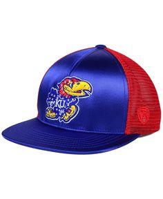 huge discount 7e2c5 85ff2 Top of the World Women s Kansas Jayhawks Big Faux-Satin Snapback Cap Men -  Sports Fan Shop By Lids - Macy s