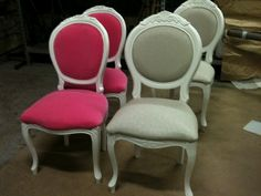 French Chairs for a Tea room.