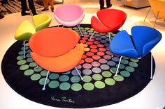 Sedie colorate, a seconda del proprio gusto personale. #interiordesign #sedia #chair #relax #livingroom