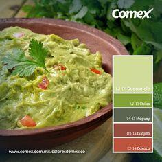 Comex / Guacamole Nuestra gastronomía está llena de color,me encanta mi México!!.