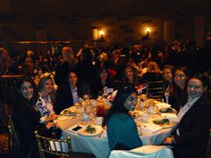Protiviti table at the Crain's 50 most powerful women in New York city luncheon.
