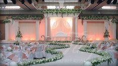 stage decoration for a wedding Wedding Stage Decorations, Marriage Decoration, Engagement Decorations, Pakistani Wedding Stage, Desi Wedding, Wedding Ideas, Mehndi, Wedding Who Pays, Decoration Photo