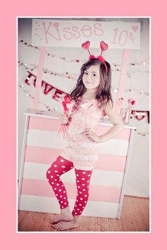 <3 Kissing booth Valentines Portraits Our daughter in laws photography is amazing so is our new granddaughter!oxo