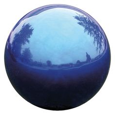 """Found it at Wayfair - 12"""" Blue Mirror Ball"""