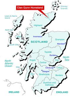 Clan Gunn Homeland