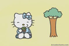 Hello Kitty Eating Cupcake Sliding Puzzle Free Online Puzzle Games, Online Games, Hello Kitty, Cupcake, Play, Fictional Characters, Cupcakes, Cupcake Cakes, Fantasy Characters