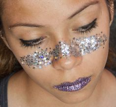 Wearing this look for 4th of July - Showing American Spirit with Glitter