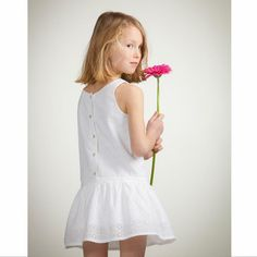 Acanthe - Robe en broderie anglaise - Robe - FILLE - FILLE