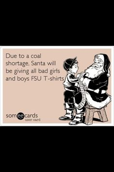 I don't necessarily agree (Seminole at heart) but I thought you'd find this funny Laura! :-)