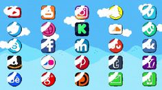 Pixel Social Icons And Lower Thirds (Top After Effects Templates)