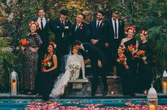A Mid Winter Night's Dream Wedding in Mexico: Mia + Guillermo | Green Wedding Shoes Wedding Blog | Wedding Trends for Stylish + Creative Brides