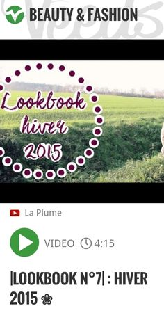 |Lookbook n°7| : Hiver 2015 ❀ | http://veeds.com/i/qH_atWe146F4nBKP/beauty/