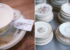 The Vintage Table Co dessert plates