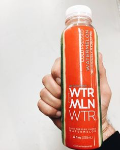 Cold pressed watermelon  simply refreshing