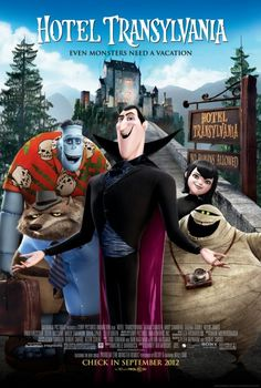 Hotel Transylvania - cutest movie ever. If you haven't seen it yet, go. Right now.