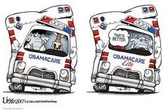 OBAMACARE 2.0 | Mar/13/17 Cartoon by Lisa Benson -
