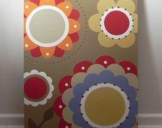 Tela Floral Colours 50x70cm
