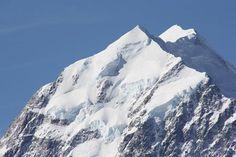 Face in the Mountain: New Zealand's Aoraki Mount Cook