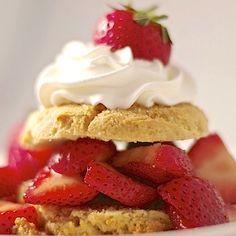 Gluten free strawberry shortcake, almond flour make these shortcakes ...