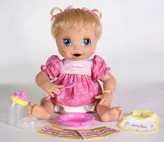 The classic Baby Alive #doll who eats and then poops has been re-vitalized, and has made a grand comeback.