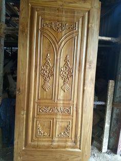 Single Door Design, Front Door Design Wood, Bedroom Cupboard Designs, Door Design Interior, Single Doors, Wood Doors, Wood Crafts, Modern Design, Hafiz