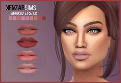 Kenzar Sims: Markus eyeshadow and lipstick • Sims 4 Downloads
