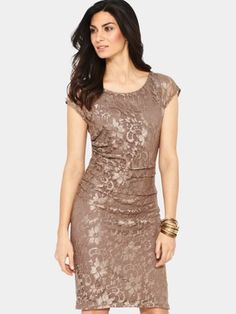 Savoir Ruched Side Lace Dress, http://www.littlewoodsireland.ie/savoir-ruched-side-lace-dress/1270195665.prd